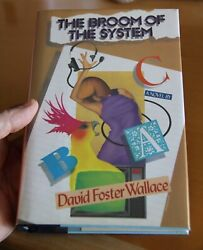 David Foster Wallace - The Broom Of The System - First - Like New