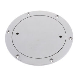 197mm Marine 316 Stainless Steel Inspection Deck Plate For Boat New