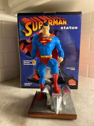 Dc Direct Full Size Superman Jim Lee Statue Hush Limited Edition 3701 Of 6500.