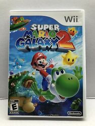 Super Mario Galaxy 2 Nintendo Wii 2010 Clean And Tested Working - Free Ship