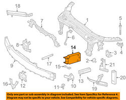 Mercedes Mercedes-benz Oem Radiator Core Support-rail Extension Right 2056200695