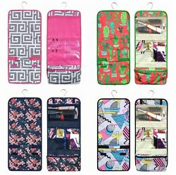 Travel Cosmetic Bag Toiletry Makeup Organizer Pouch Print Pocket Hanging Storage $10.95