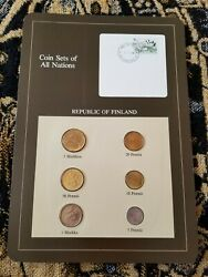 Guernsey Coins Of All Nations 1979-1984 Unc Uncirculated Set