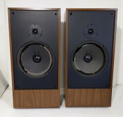 Vintage Pair Teledyne Acoustic Research Ar-28bx Speakers Needs To Be Refoamed