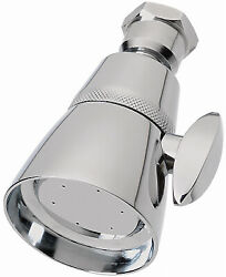 Showerhead, Fixed-mount, Chrome-plated Brass