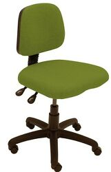 50 X Albion Chairs Uni07 Brand New Medium Back Office/task Chairs In Green
