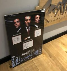 Hand Signed Authentic Goodfellas Display Aftal Dealer No 113