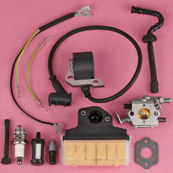 Carb Carburetor Ignition Coil Air Filter For Stihl 025 Ms230 Ms210 Ms250