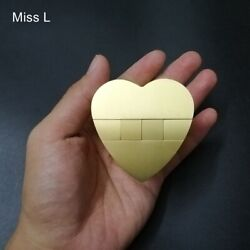 Metal Heart Puzzle Collection Hobby Mind Intelligence Toy Chinese Kong Ming Lock