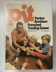 Vintage Pit Card Game With Bell 1973 Parker Brothers