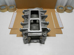Real 1960s Weiand 7151 Blower Super Charger Intake 671 871 Chevy 396 427 454 Bbc