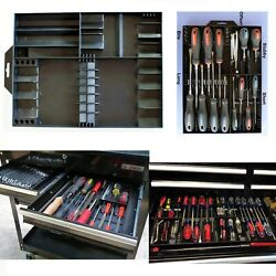 Screwdriver And Bits Organizer For Craftsman Tools Tool Box Chest Drawer Tray