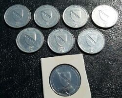 Bosnia And Herzegovina - All The Years Of Minting 1 Konvertible Mark 9 Diff. Coins