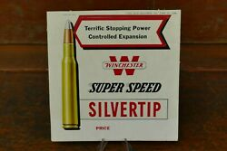 Vintage 1952 Winchester Silver Tip Super Speed Store Counter Pop Out Display Nos