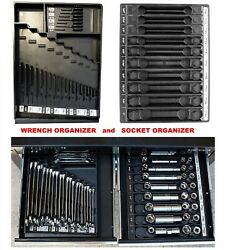 Wrench And Socket Organizer For Craftsman Tools Tool Box Chest Cart Drawer Tray