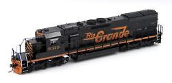 Overland Models Omi Brass Ho Rio Grande Dandrgw Sd40t-2 - Factory Painted 5373