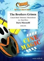 The Brothers Grimm Tv Film Musical Show Concert Band Music Set Score Parts