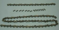 Chainsaw Ripping Chain Carlton Parts Lot 3/8 Pitch 70 Drive Links 7 Presets