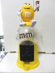 M And M Candy Dispenser And Bank Rare Hard To Find