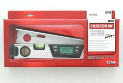 Craftsman Digital Angle Finder 4 Function Tool Lcd Screen 948276