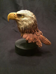 Rick Cain Limited Edition Year Of The Eagle 462/2000 Carved Bald Eagle Signed