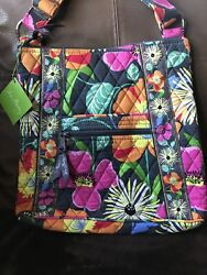 Vera Bradley Large Hipster Jazzy Blooms New With Tags, Crossbody, Exact Bag