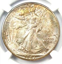 1947-d Walking Liberty Half Dollar 50c Coin - Certified Ngc Ms67 - 2,750 Value