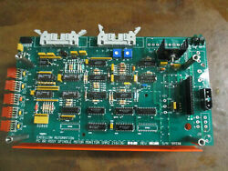 Excellon Automation Pcb Assy Spindle Motor Monitor Smm 2_216136-25 Rev. H_deal