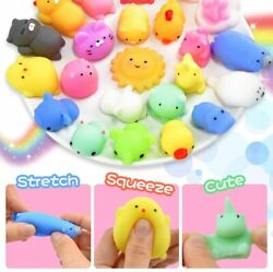 Squishys 50 Pack Mini Mochi Toys Party Favors For Kids