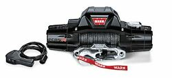 Warn 89305 Zeon R 8-s 12 Volt Electric 8000 Lb Capacity Winch W/ 100 Ft Rope