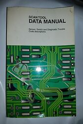 1998 Spx/otc Scan Tool Data Manual Sensor Switch And Diagnostic Trouble Codes