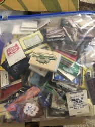 Bunch Lot Old Matchbooks And Covers Business Advertising E92