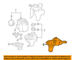 Mercedes Oem 03-06 E500-abs Pump And Motor Assy 0004300712