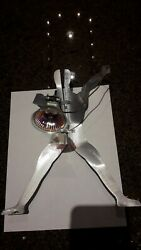 Tech Lighting Metal Man Artistic Collectible_discont. Rare Item_fastship2