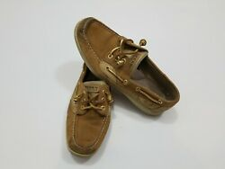 Sperry Top Sider Ivyfish Leather Size 9.5m Boat Shoes Sperrys Sts90823 Womens