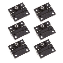 6x Position Control Hinge 4-hole Replacement Oem E6-10-301-20 Black Plastic
