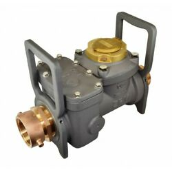 Zenner 4 Fire Hydrant High Flow Meter Model Fhh30 2andfrac12 Fnst Swivel X 2andfrac12 Mnst