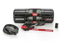 Warn 101150 Axon 55-s Powersport Winch With 5000 Lb Capacity 50and039 Synthetic Rope