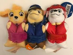 PAW PATROL MINI PILLOW PETS CHASE SKYE MARSHALL SET OF 3 $8.99 FREE SHIP