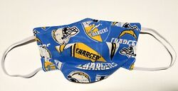 LA Chargers Cotton Fabric Face Mask