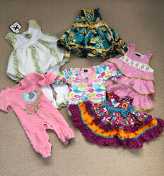 Girls Clothes Size 12 Months Lot Mud Pie, Nwt Jelly The Pug Anna Loren