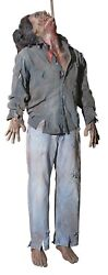 72 Halloween Life Size Hooked Up Harry All Electric Haunted House Horror Prop