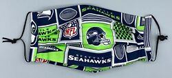 Seattle Seahawks Face Masks wfilter pocket Youth & Adult Sizes