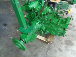 John Deere 870 4x4 Complete Rear Axle Ready To Install. Rops Not Included