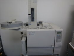 Shimadzu Gc17a, Autosampler And Tray Gc System
