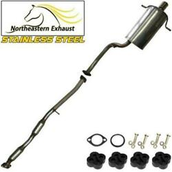 Stainless Steel Exhaust System With Bolts And Hangers Fits 2002-05 Impreza 2.5l