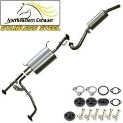 Stainless Steel Exhaust System With Bolts And Hangers Fits 01-04 Pathfinder Qx4