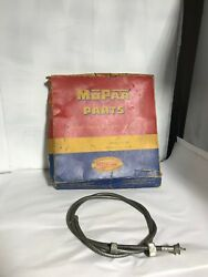 1946 1947 1948 1949 Plymouth Dodge Desoto Chrysler Nos Speedometer Cable-1261403