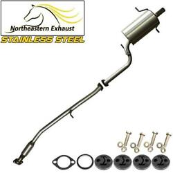 Stainless Steel Exhaust System With Hangers And Bolts Fits 99-2002 Forester 2.5l