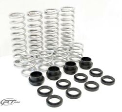 Rt Pro Standard Rate W/ Hd Lower Spring Retainers For 11-14 Rzr900 W/ Fox Podium